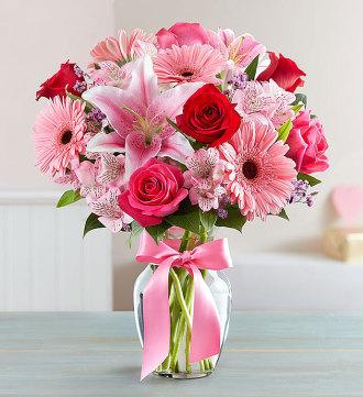 Fiels of Europe Romance Bouquet