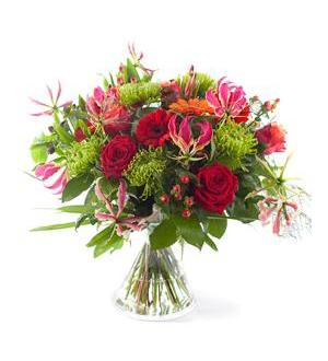 Bouquet Hurray - Exclusive Vase