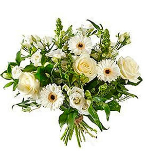 Bouquet Mixed White Flowers