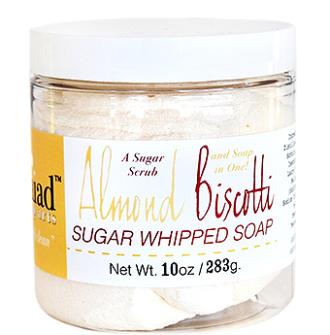 Almond Biscotti Sugar Scrub