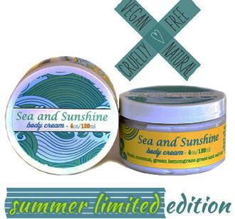 Sea and Sunshine Body Cream