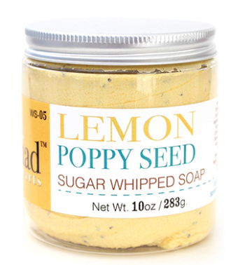 Lemon Poppyseed Sugar Scrub