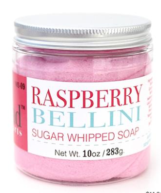 Raspberry Bellini Sugar Scrub