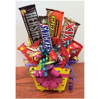 Birthday Candy Box