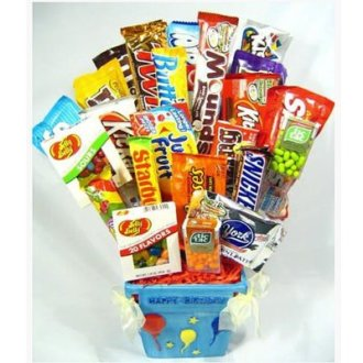 Candy Bouquet - 24 Count