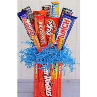 Candy Bouquet - 9 Count