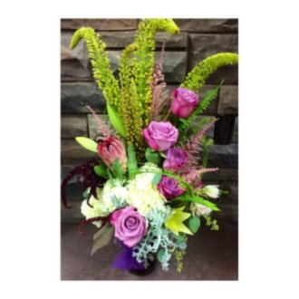 Bold and Beautiful Sympathy Arrangement