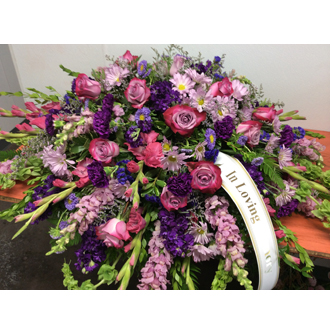 Loving Garden Casket Spray