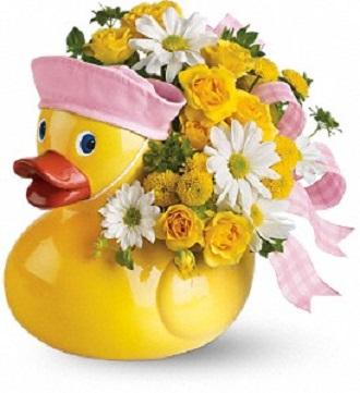 Teleflora\'s Ducky Delight - Girl