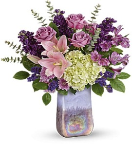 Purple Swirls Bouquet
