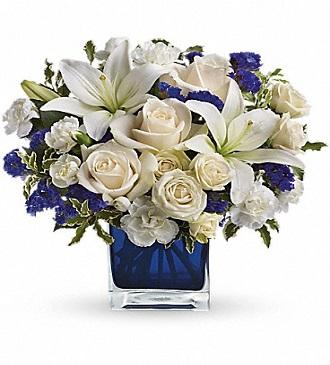 Teleflora\'s Sapphire Skies Bouquet