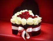 My Heart In A Box Bouquet