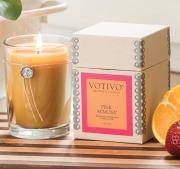 Pink Mimosa Votivo Candle