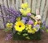 Floral Moss Basket