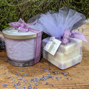 Sonoma Lavender Candle and Soap Set