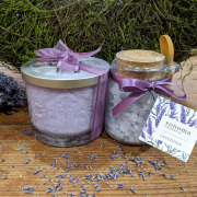 Sonoma Lavender Candle and Bath Salts
