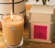 Rush Of Rose Votivo Candle