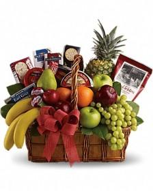 Grand Fruit & Gourmet Basket