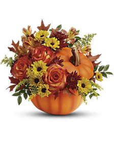 Warm Fall Wishes Pumpkin