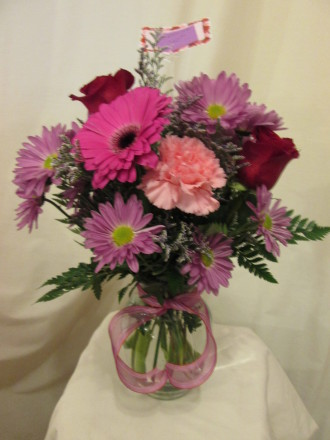 The Bloom Room Inc Text Me Bouquet Mount Zion, IL, 62549 FTD
