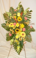 Fall Glory Easel Bouquet