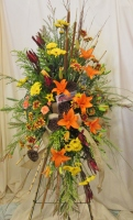 The Woodland Journey Easel Bouquet