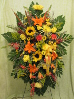 Natures Trail Easel Bouquet