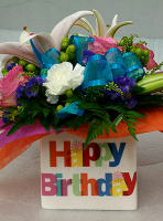 Happy Birthday Cube