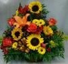 Sunflower Garden Basket