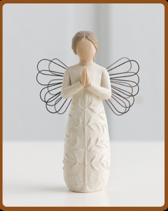 Willow Tree figurine, A Tree A prayer angel