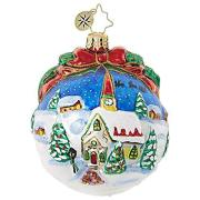 Christopher Radko Inspiring Santa Silhouette Ornament