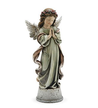 Little Girl Angel with Music Box