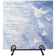 Lord's Prayer Easel Plaque