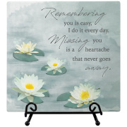 Missing You Easel Plaque