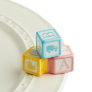 Nora Fleming Ohhh, Baby! Blocks Mini