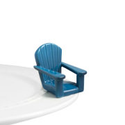 Nora Fleming Chilling Chair Blue Adirondack Chair Mini