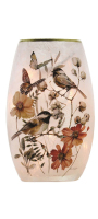 Country Weekend Birds Pre-Lit Small Vase