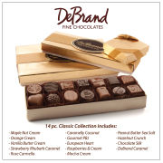 DeBrand 14 Piece Chocolate