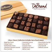 DeBrand 28 Piece Chocolate