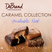 DeBrand Dark Chocolate Salted Carmels
