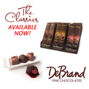 DeBrand Chocolates - Raspberry & Cream