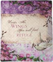 COMFORT QUILT- Under His Wings-REFUGE