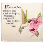 MEMORIES- fleece blanket with hummingbird