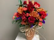 WELCOME FALL PINEAPPLE VASE