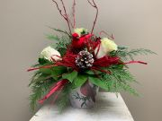 HOLIDAY CARDINAL BOUQUET