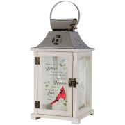 LANTERN- 12718- CARDINAL Heaven with candle