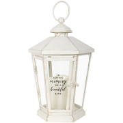 LANTERN- 57281- Beautiful life with candle