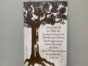 FAMILY TREE PLAQUE- GANZ 63754