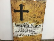 AMAZING GRACE WALL ART