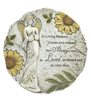 Angel Stepping Stone-SUNFLOWER DESIGN